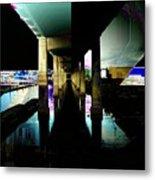 Ballard Bridge Metal Print