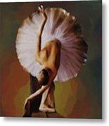 Ballerina Art 0421 Metal Print
