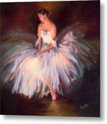 Ballerina Ballet Dancer Archival Print Metal Print