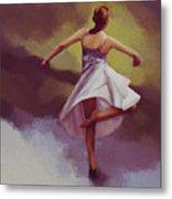 Ballerina Dance 0391 Metal Print