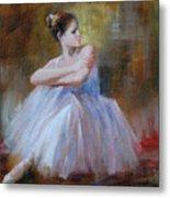 Ballerina E Metal Print