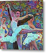Ballet Carnival Metal Print
