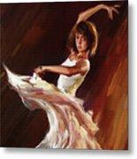 Ballet Dance 0706  Metal Print