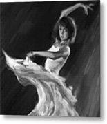 Ballet Dance 0905 Metal Print