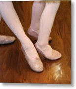 Ballet Girls Metal Print