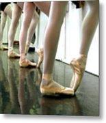 Ballet In Studio Metal Print by Chiara Costa