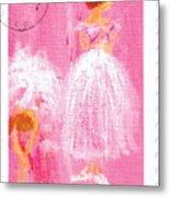 Ballet Sisters 2007 Metal Print