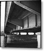 Ballona Creek Bridge Metal Print