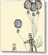 Ballons For Sale Metal Print by William Addison