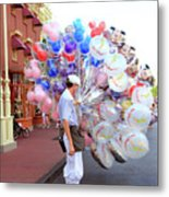 Balloon Boy Metal Print