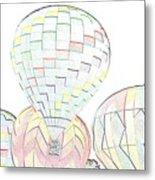 Balloon Day Metal Print