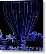 Balloon Festival Metal Print