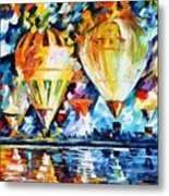 Balloon Festival New Metal Print