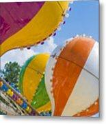 Balloon Fun Metal Print