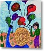 Balloon Sales Metal Print