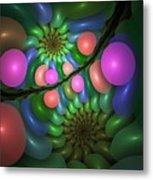Balloonatic Metal Print
