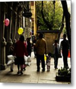 Balloons In Mexico City Metal Print