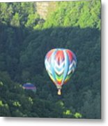 Balloons Over Letchworth Metal Print