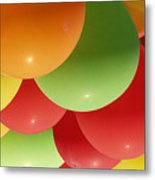 Balloons Up Metal Print