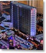 Bally's Hotel, Las Vegas Metal Print