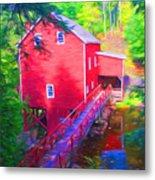 Balmoral Grist Mill Museum Metal Print