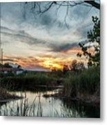 Balmorhea Sunset Metal Print