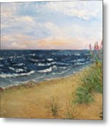 Baltic Coast Metal Print