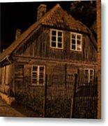 Baltic Houses Metal Print