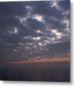 Baltic Sea, Sunset Metal Print