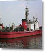 Baltimore Fire Boat 2003 Metal Print