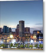 Baltimore Harbor Metal Print by Shawn Everhart