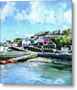 Baltimore Harbour County Cork Metal Print