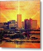 Baltimore Horizon Metal Print