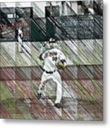 Baltimore Orioles Pitcher - Chris Tillman - Spring Training Metal Print