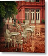 Baltimore Rain Metal Print
