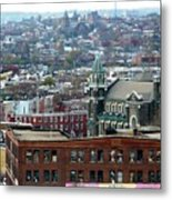 Baltimore Rooftops Metal Print