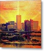 Baltimore Sunrise Metal Print