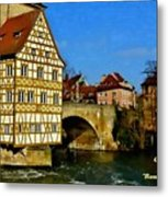 Bamberg Townhall - Germany H A Metal Print