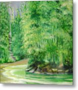 Bamboo Forests 1 Metal Print