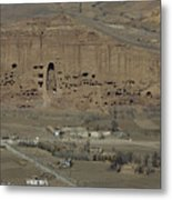 Bamiyan's Empty Alcoves Metal Print