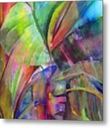 Banana Leaves IIi Metal Print