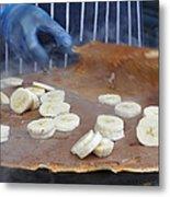 Banana Nutella Crepe Metal Print