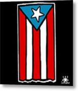 Bandera De Puerto Rico Metal Print