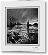 Bandon Beach 1 Metal Print