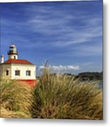Bandon Coquille River Lighthouse Metal Print
