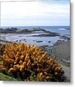 Bandon Harbor Entrance Metal Print