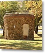 Bandstand Drinking Fountain Metal Print