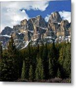 Banff - Castle Mountain Metal Print