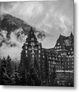 Banff Fairmont Springs Hotel Metal Print