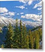 Banff Gondola Metal Print